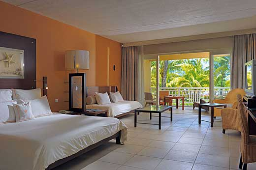 Hotel le victoria 4 beachcomber hotel ile maurice for Chambre d hote ile maurice