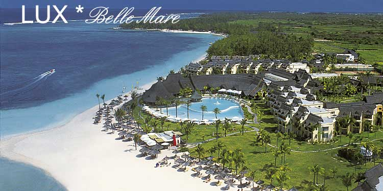Ile maurice lux belle mare 5 cote est hotel 5 for Reservation hotel luxe