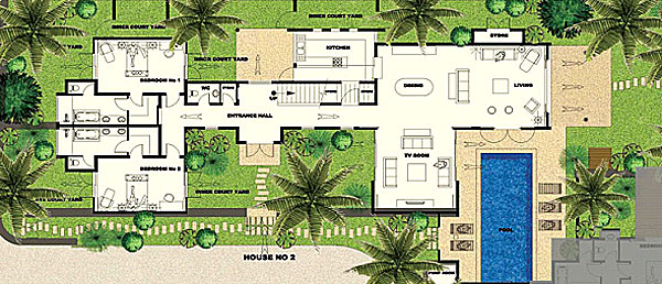 Plan Villa Ile Maurice images